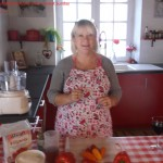 Photos  My name is Roz but lots call me Rosie.  Welcome to Rosies Home Kitchen.  I moved from the UK to France in 2005, gave up my business and with my husband, Paul, and two sons converted a small cottage in rural Brittany to our home   Half Acre Farm.  It was here after years of ready meals and take aways in the UK I realised that I could cook. Paul also learned he could grow vegetables and plant fruit trees; we also keep our own poultry for meat and eggs. Shortly after finishing the work on our house we was featured in a magazine called Breton and since then Ive been featured in a few magazines for my food.  My two sons now have their own families but live near by and Im now the proud grandmother of two little boys. Both of my daughter in laws are both great cooks.  My cooking is home cooking, but often with a French twist, my videos are not there to impress but inspire, So many people say that they cant cook, but we all can, you just got to give it a go.