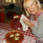 Turkey Dhansak guest posts  My name is Roz but lots call me Rosie.  Welcome to Rosies Home Kitchen.  I moved from the UK to France in 2005, gave up my business and with my husband, Paul, and two sons converted a small cottage in rural Brittany to our home   Half Acre Farm.  It was here after years of ready meals and take aways in the UK I realised that I could cook. Paul also learned he could grow vegetables and plant fruit trees; we also keep our own poultry for meat and eggs. Shortly after finishing the work on our house we was featured in a magazine called Breton and since then Ive been featured in a few magazines for my food.  My two sons now have their own families but live near by and Im now the proud grandmother of two little boys. Both of my daughter in laws are both great cooks.  My cooking is home cooking, but often with a French twist, my videos are not there to impress but inspire, So many people say that they cant cook, but we all can, you just got to give it a go.