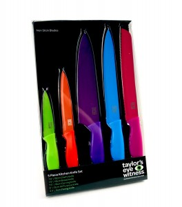 Taylors Eye Witness 5 Piece Kitchen Knife Set  kitchen kit  My name is Roz but lots call me Rosie.  Welcome to Rosies Home Kitchen.  I moved from the UK to France in 2005, gave up my business and with my husband, Paul, and two sons converted a small cottage in rural Brittany to our home   Half Acre Farm.  It was here after years of ready meals and take aways in the UK I realised that I could cook. Paul also learned he could grow vegetables and plant fruit trees; we also keep our own poultry for meat and eggs. Shortly after finishing the work on our house we was featured in a magazine called Breton and since then Ive been featured in a few magazines for my food.  My two sons now have their own families but live near by and Im now the proud grandmother of two little boys. Both of my daughter in laws are both great cooks.  My cooking is home cooking, but often with a French twist, my videos are not there to impress but inspire, So many people say that they cant cook, but we all can, you just got to give it a go.