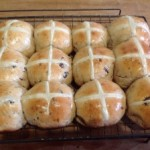 Hot Cross Buns recipes  My name is Roz but lots call me Rosie.  Welcome to Rosies Home Kitchen.  I moved from the UK to France in 2005, gave up my business and with my husband, Paul, and two sons converted a small cottage in rural Brittany to our home   Half Acre Farm.  It was here after years of ready meals and take aways in the UK I realised that I could cook. Paul also learned he could grow vegetables and plant fruit trees; we also keep our own poultry for meat and eggs. Shortly after finishing the work on our house we was featured in a magazine called Breton and since then Ive been featured in a few magazines for my food.  My two sons now have their own families but live near by and Im now the proud grandmother of two little boys. Both of my daughter in laws are both great cooks.  My cooking is home cooking, but often with a French twist, my videos are not there to impress but inspire, So many people say that they cant cook, but we all can, you just got to give it a go.