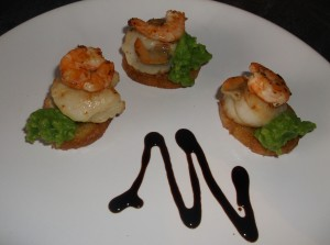St Jaques (scallops), with Pea Puree recipes  My name is Roz but lots call me Rosie.  Welcome to Rosies Home Kitchen.  I moved from the UK to France in 2005, gave up my business and with my husband, Paul, and two sons converted a small cottage in rural Brittany to our home   Half Acre Farm.  It was here after years of ready meals and take aways in the UK I realised that I could cook. Paul also learned he could grow vegetables and plant fruit trees; we also keep our own poultry for meat and eggs. Shortly after finishing the work on our house we was featured in a magazine called Breton and since then Ive been featured in a few magazines for my food.  My two sons now have their own families but live near by and Im now the proud grandmother of two little boys. Both of my daughter in laws are both great cooks.  My cooking is home cooking, but often with a French twist, my videos are not there to impress but inspire, So many people say that they cant cook, but we all can, you just got to give it a go.
