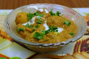 Punjabi Dum Aloo Recipe From Priya Shiva guest posts  My name is Roz but lots call me Rosie.  Welcome to Rosies Home Kitchen.  I moved from the UK to France in 2005, gave up my business and with my husband, Paul, and two sons converted a small cottage in rural Brittany to our home   Half Acre Farm.  It was here after years of ready meals and take aways in the UK I realised that I could cook. Paul also learned he could grow vegetables and plant fruit trees; we also keep our own poultry for meat and eggs. Shortly after finishing the work on our house we was featured in a magazine called Breton and since then Ive been featured in a few magazines for my food.  My two sons now have their own families but live near by and Im now the proud grandmother of two little boys. Both of my daughter in laws are both great cooks.  My cooking is home cooking, but often with a French twist, my videos are not there to impress but inspire, So many people say that they cant cook, but we all can, you just got to give it a go.