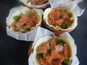 Salmon Tart, with Goats Cheese and Broccoli recipes  My name is Roz but lots call me Rosie.  Welcome to Rosies Home Kitchen.  I moved from the UK to France in 2005, gave up my business and with my husband, Paul, and two sons converted a small cottage in rural Brittany to our home   Half Acre Farm.  It was here after years of ready meals and take aways in the UK I realised that I could cook. Paul also learned he could grow vegetables and plant fruit trees; we also keep our own poultry for meat and eggs. Shortly after finishing the work on our house we was featured in a magazine called Breton and since then Ive been featured in a few magazines for my food.  My two sons now have their own families but live near by and Im now the proud grandmother of two little boys. Both of my daughter in laws are both great cooks.  My cooking is home cooking, but often with a French twist, my videos are not there to impress but inspire, So many people say that they cant cook, but we all can, you just got to give it a go.