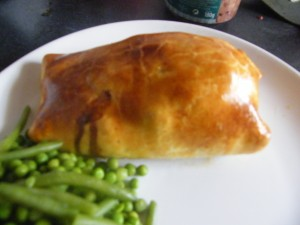 Pork Wellington recipes  My name is Roz but lots call me Rosie.  Welcome to Rosies Home Kitchen.  I moved from the UK to France in 2005, gave up my business and with my husband, Paul, and two sons converted a small cottage in rural Brittany to our home   Half Acre Farm.  It was here after years of ready meals and take aways in the UK I realised that I could cook. Paul also learned he could grow vegetables and plant fruit trees; we also keep our own poultry for meat and eggs. Shortly after finishing the work on our house we was featured in a magazine called Breton and since then Ive been featured in a few magazines for my food.  My two sons now have their own families but live near by and Im now the proud grandmother of two little boys. Both of my daughter in laws are both great cooks.  My cooking is home cooking, but often with a French twist, my videos are not there to impress but inspire, So many people say that they cant cook, but we all can, you just got to give it a go.
