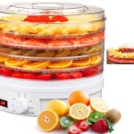 Shef Electric Food & Fruit Dehydrator, Dryer Preserver Machine with Adjustable Temperature Control kitchen kit  My name is Roz but lots call me Rosie.  Welcome to Rosies Home Kitchen.  I moved from the UK to France in 2005, gave up my business and with my husband, Paul, and two sons converted a small cottage in rural Brittany to our home   Half Acre Farm.  It was here after years of ready meals and take aways in the UK I realised that I could cook. Paul also learned he could grow vegetables and plant fruit trees; we also keep our own poultry for meat and eggs. Shortly after finishing the work on our house we was featured in a magazine called Breton and since then Ive been featured in a few magazines for my food.  My two sons now have their own families but live near by and Im now the proud grandmother of two little boys. Both of my daughter in laws are both great cooks.  My cooking is home cooking, but often with a French twist, my videos are not there to impress but inspire, So many people say that they cant cook, but we all can, you just got to give it a go.