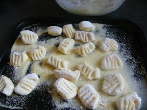 Gnocchi recipes  My name is Roz but lots call me Rosie.  Welcome to Rosies Home Kitchen.  I moved from the UK to France in 2005, gave up my business and with my husband, Paul, and two sons converted a small cottage in rural Brittany to our home   Half Acre Farm.  It was here after years of ready meals and take aways in the UK I realised that I could cook. Paul also learned he could grow vegetables and plant fruit trees; we also keep our own poultry for meat and eggs. Shortly after finishing the work on our house we was featured in a magazine called Breton and since then Ive been featured in a few magazines for my food.  My two sons now have their own families but live near by and Im now the proud grandmother of two little boys. Both of my daughter in laws are both great cooks.  My cooking is home cooking, but often with a French twist, my videos are not there to impress but inspire, So many people say that they cant cook, but we all can, you just got to give it a go.