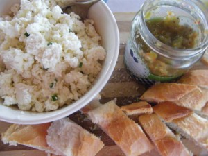 Ricotta(ish) recipes  My name is Roz but lots call me Rosie.  Welcome to Rosies Home Kitchen.  I moved from the UK to France in 2005, gave up my business and with my husband, Paul, and two sons converted a small cottage in rural Brittany to our home   Half Acre Farm.  It was here after years of ready meals and take aways in the UK I realised that I could cook. Paul also learned he could grow vegetables and plant fruit trees; we also keep our own poultry for meat and eggs. Shortly after finishing the work on our house we was featured in a magazine called Breton and since then Ive been featured in a few magazines for my food.  My two sons now have their own families but live near by and Im now the proud grandmother of two little boys. Both of my daughter in laws are both great cooks.  My cooking is home cooking, but often with a French twist, my videos are not there to impress but inspire, So many people say that they cant cook, but we all can, you just got to give it a go.