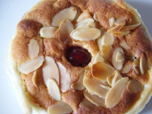 Almond Tarts recipes  My name is Roz but lots call me Rosie.  Welcome to Rosies Home Kitchen.  I moved from the UK to France in 2005, gave up my business and with my husband, Paul, and two sons converted a small cottage in rural Brittany to our home   Half Acre Farm.  It was here after years of ready meals and take aways in the UK I realised that I could cook. Paul also learned he could grow vegetables and plant fruit trees; we also keep our own poultry for meat and eggs. Shortly after finishing the work on our house we was featured in a magazine called Breton and since then Ive been featured in a few magazines for my food.  My two sons now have their own families but live near by and Im now the proud grandmother of two little boys. Both of my daughter in laws are both great cooks.  My cooking is home cooking, but often with a French twist, my videos are not there to impress but inspire, So many people say that they cant cook, but we all can, you just got to give it a go.