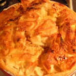 Easy Apple Pie  rosies home kitchen in brittany france recipes  My name is Roz but lots call me Rosie.  Welcome to Rosies Home Kitchen.  I moved from the UK to France in 2005, gave up my business and with my husband, Paul, and two sons converted a small cottage in rural Brittany to our home   Half Acre Farm.  It was here after years of ready meals and take aways in the UK I realised that I could cook. Paul also learned he could grow vegetables and plant fruit trees; we also keep our own poultry for meat and eggs. Shortly after finishing the work on our house we was featured in a magazine called Breton and since then Ive been featured in a few magazines for my food.  My two sons now have their own families but live near by and Im now the proud grandmother of two little boys. Both of my daughter in laws are both great cooks.  My cooking is home cooking, but often with a French twist, my videos are not there to impress but inspire, So many people say that they cant cook, but we all can, you just got to give it a go.