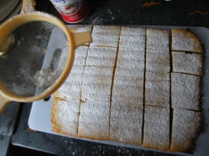 Magic Custard Cake recipes  My name is Roz but lots call me Rosie.  Welcome to Rosies Home Kitchen.  I moved from the UK to France in 2005, gave up my business and with my husband, Paul, and two sons converted a small cottage in rural Brittany to our home   Half Acre Farm.  It was here after years of ready meals and take aways in the UK I realised that I could cook. Paul also learned he could grow vegetables and plant fruit trees; we also keep our own poultry for meat and eggs. Shortly after finishing the work on our house we was featured in a magazine called Breton and since then Ive been featured in a few magazines for my food.  My two sons now have their own families but live near by and Im now the proud grandmother of two little boys. Both of my daughter in laws are both great cooks.  My cooking is home cooking, but often with a French twist, my videos are not there to impress but inspire, So many people say that they cant cook, but we all can, you just got to give it a go.