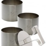 Andrew James Stainless Steel 4 Piece Measuring Cup Set   ¼ cup 60ml, 1/3 cup 80ml, ½ cup 125 ml and 1 cup 250 ml kitchen kit  My name is Roz but lots call me Rosie.  Welcome to Rosies Home Kitchen.  I moved from the UK to France in 2005, gave up my business and with my husband, Paul, and two sons converted a small cottage in rural Brittany to our home   Half Acre Farm.  It was here after years of ready meals and take aways in the UK I realised that I could cook. Paul also learned he could grow vegetables and plant fruit trees; we also keep our own poultry for meat and eggs. Shortly after finishing the work on our house we was featured in a magazine called Breton and since then Ive been featured in a few magazines for my food.  My two sons now have their own families but live near by and Im now the proud grandmother of two little boys. Both of my daughter in laws are both great cooks.  My cooking is home cooking, but often with a French twist, my videos are not there to impress but inspire, So many people say that they cant cook, but we all can, you just got to give it a go.