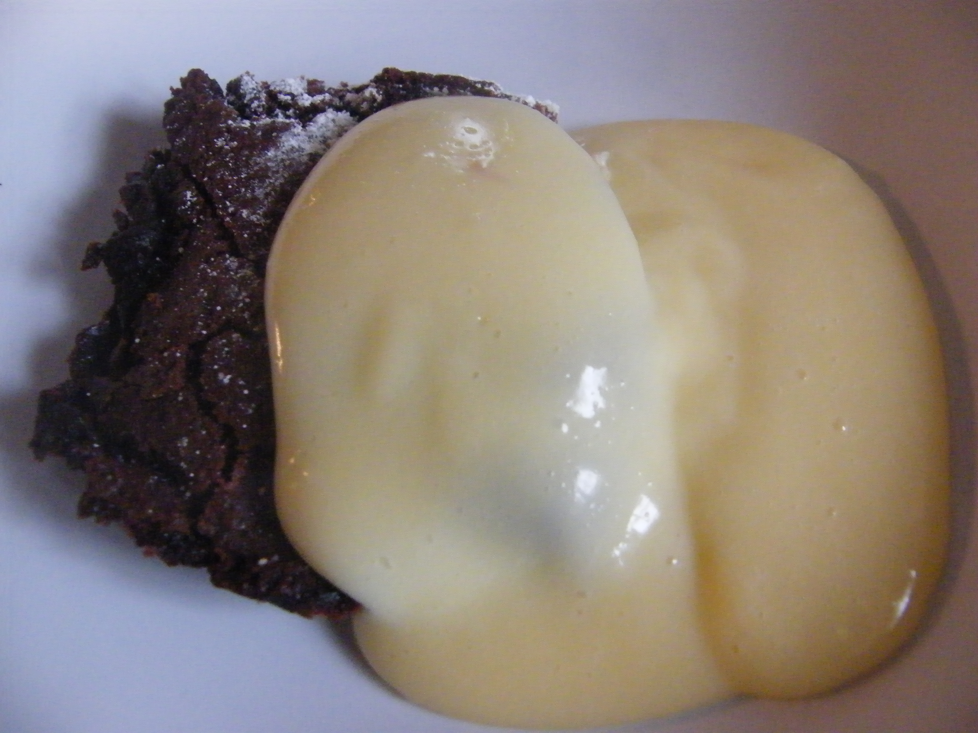 Chocolate Concrete And Custard Rosies Home Kitchen